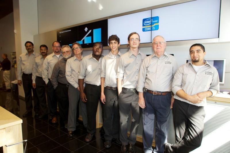The staff of Austin MacWorks